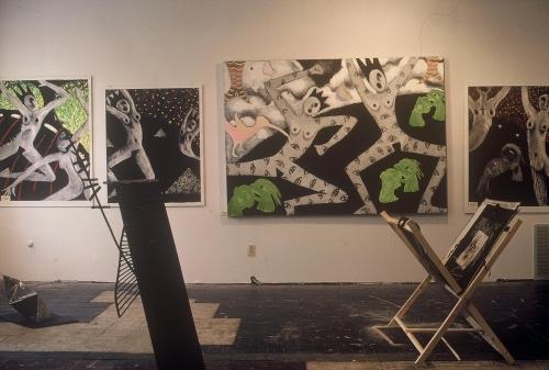 Dante Series at gallery, Rena Church 1980-83