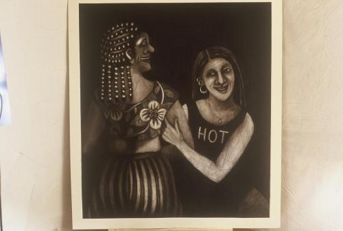 Hot, Rena Church, 1984